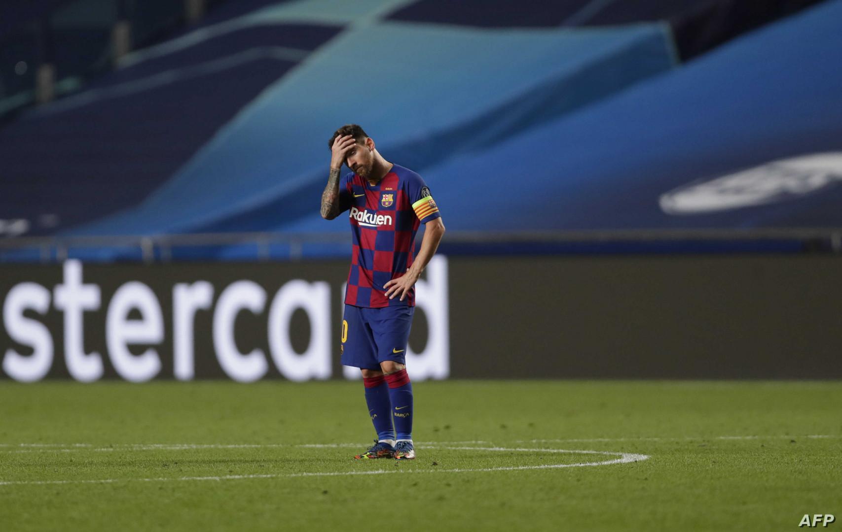 ميسي يصدم برشلونة ويبلغه بقرار رحيله