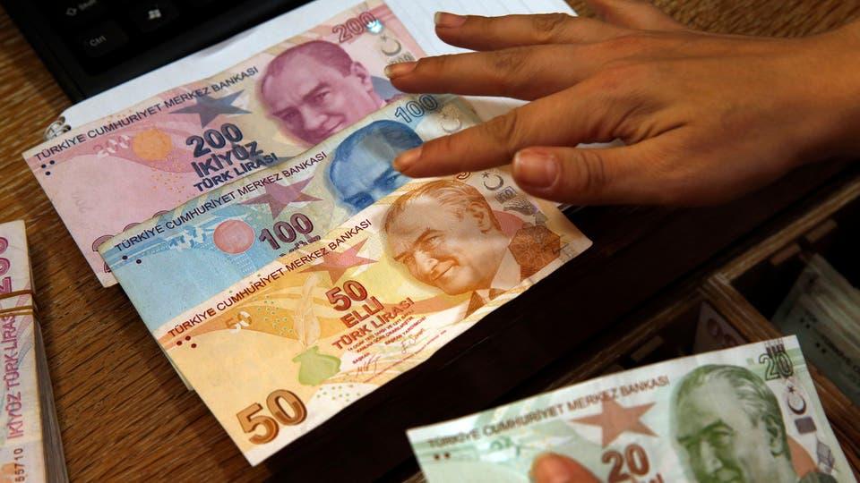 انخفاض بقيمة الليرة التركية عقب قرار