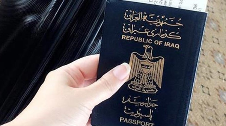 The Iraqi passport is penultimate in terms of entering countries without a visa 1597673252734