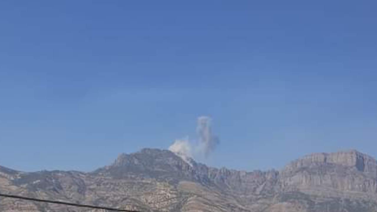 بعد يوم على زيارة الكاظمي .. الطائرات التركية تقصف شمالي دهوك