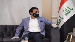 رئيس البرلمان العراقي محمد الحلبوسي يصل إلى أربيل