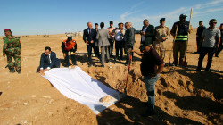 Finding human remains in Baghdad