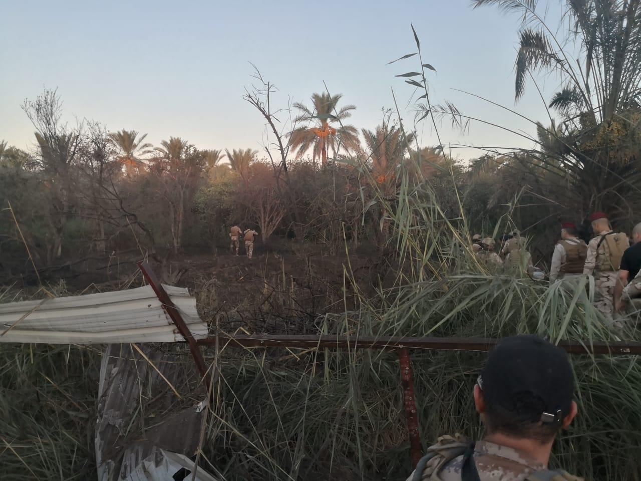 ضربة جوية تفتك باثنين من قادة داعش شمال بغداد