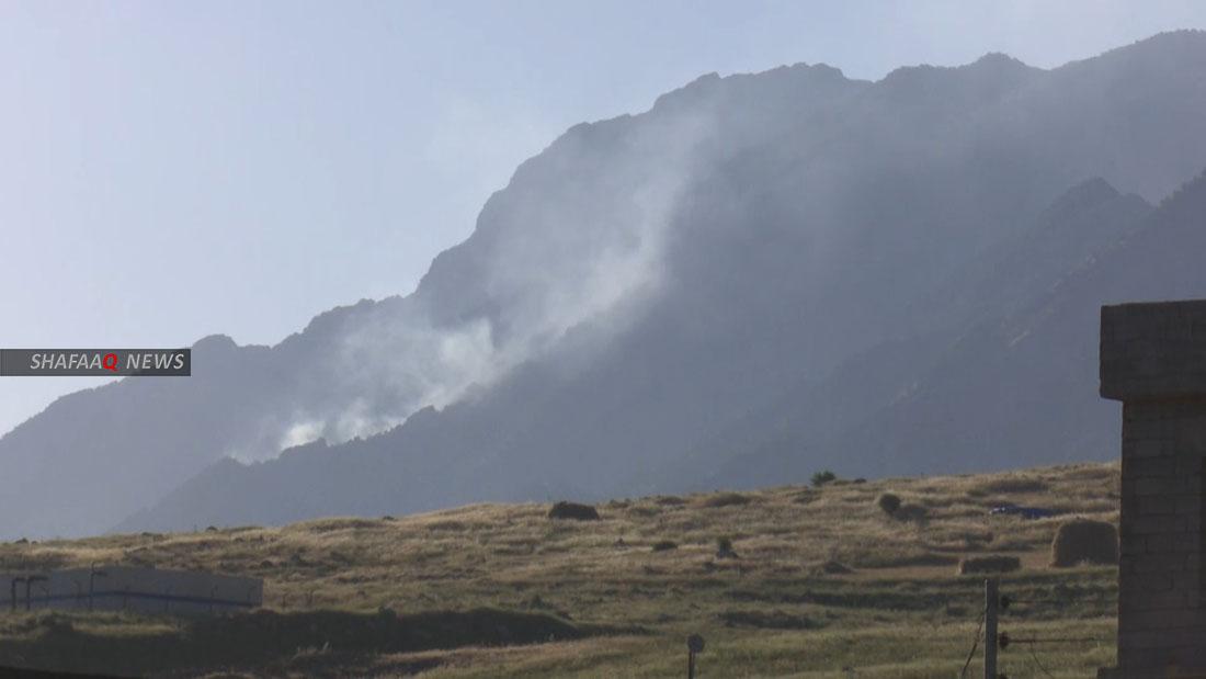 Turkey bombs Sinjar Mountain