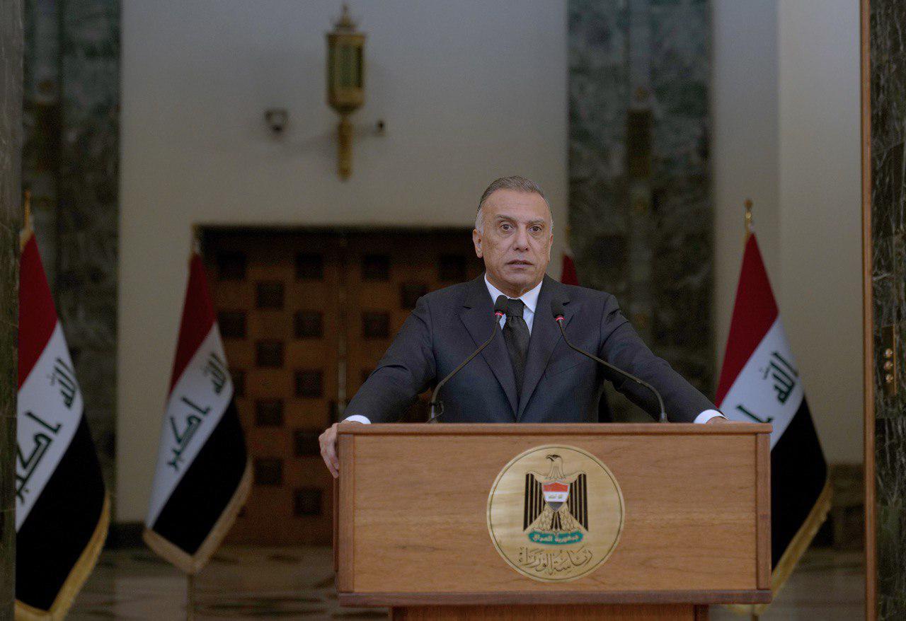 الكاظمي يعلن مشروعا نوويا مستقبليا بالعراق .. ماكرون يؤكد اهمية قطار بغداد المعلق