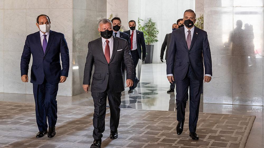 "The ""Tripartite Summit"" postpones the Iraqi parliament session 1599027443690"
