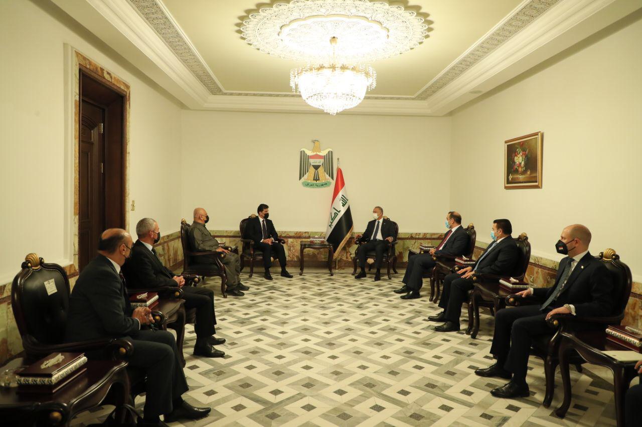 الكاظمي يجتمع مع رئيس إقليم كوردستان في بغداد