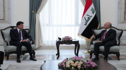 Barzani met Salih in Baghdad