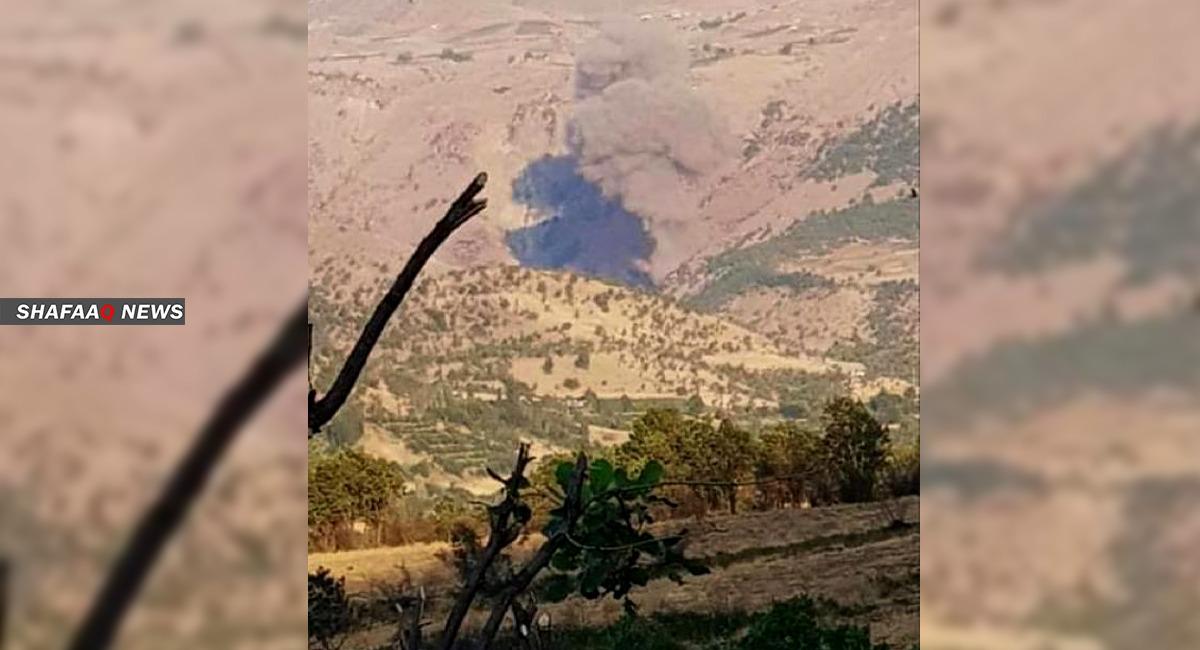 Turkish artillery and air forces attack border areas in Kurdistan region