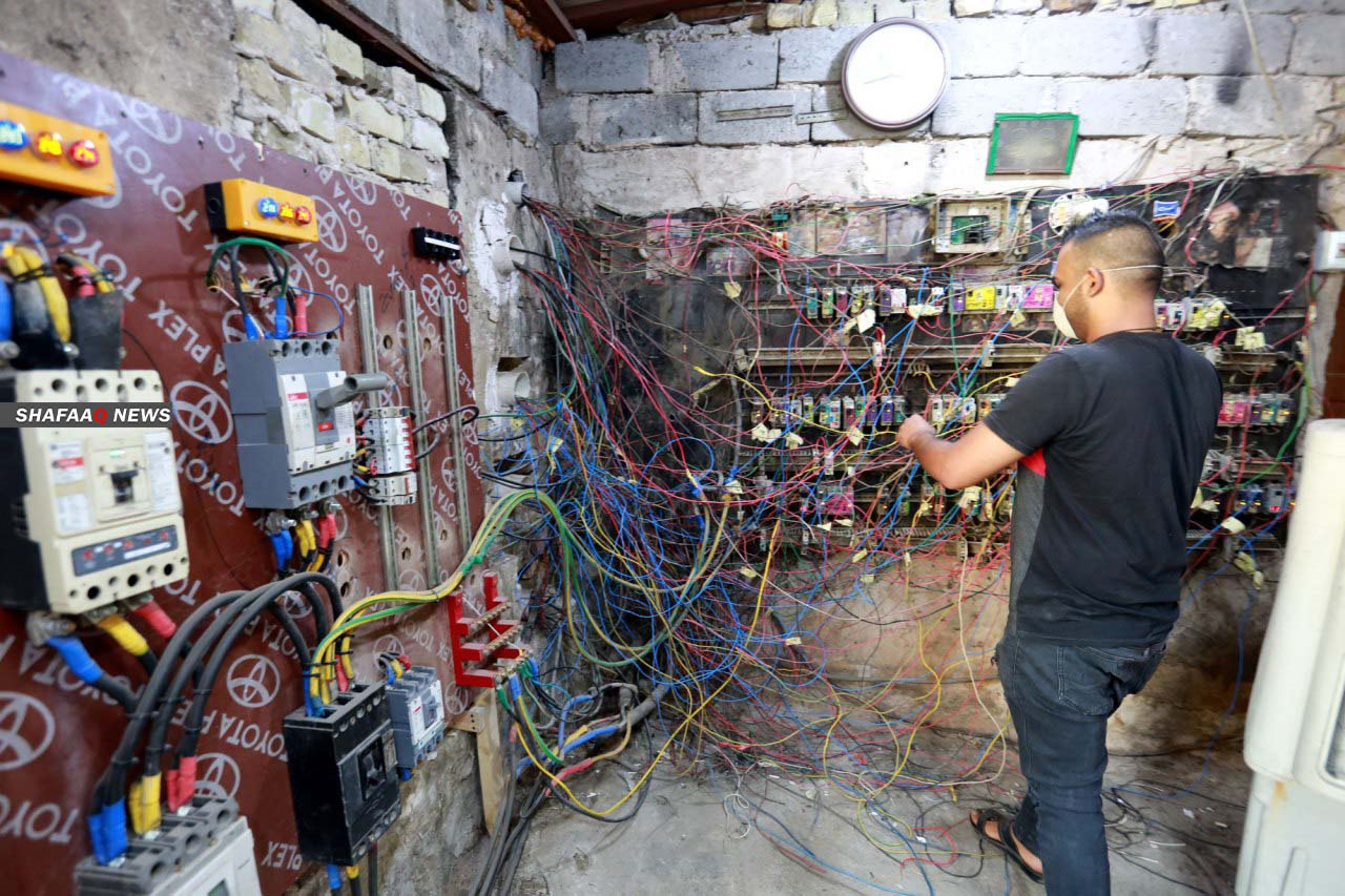 Electricity is good news for the Iraqis