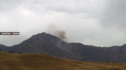 The Turkish army opened fire at three villages north of Erbil