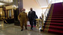 الكاظمي لمسعود بارزاني: إقليم كوردستان جزء أساس ومتكامل من العراق