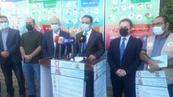 إنطلاق حملة جديدة لمكافحة كورونا بعاصمة اقليم كوردستان