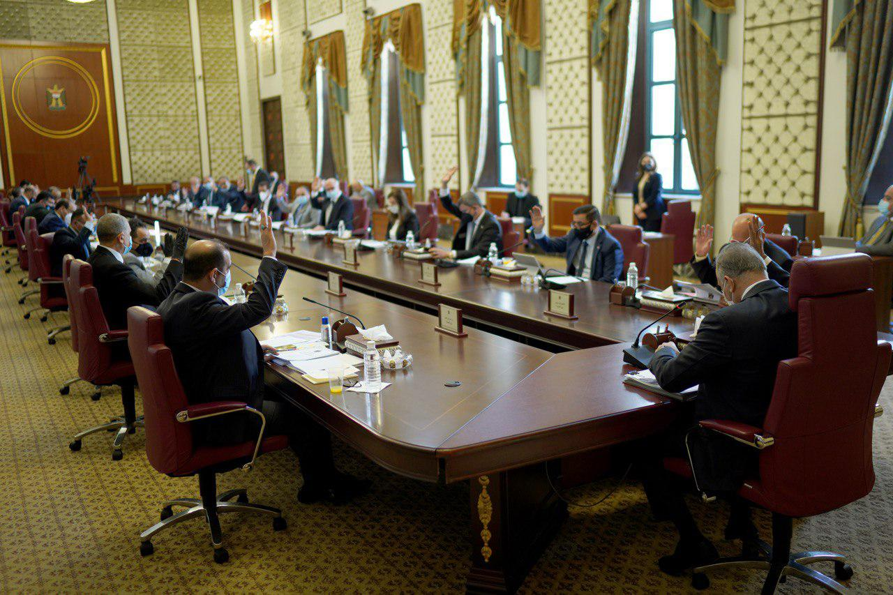 The Iraqi government submits the 2020 federal budget law draft to the Parliament