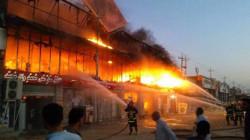 إحتراق محال تجارية بإنفجار و وفاة واصابة 6 اشخاص بحوادث في ديالى