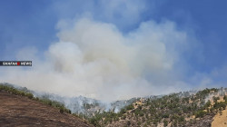 Turkish shelling ignites fires in farms and forests in Duhok