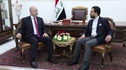 صالح والحلبوسي يعلنان دعما للكاظمي بملفين ويحذران من السلاح بالانتخابات
