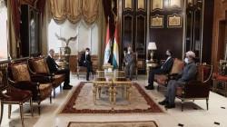 ألمانيا تؤكد لبارزاني دعمها للاقليم والعراق