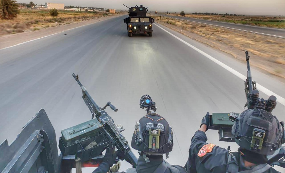CTS surround ISIS remnants in Nineveh