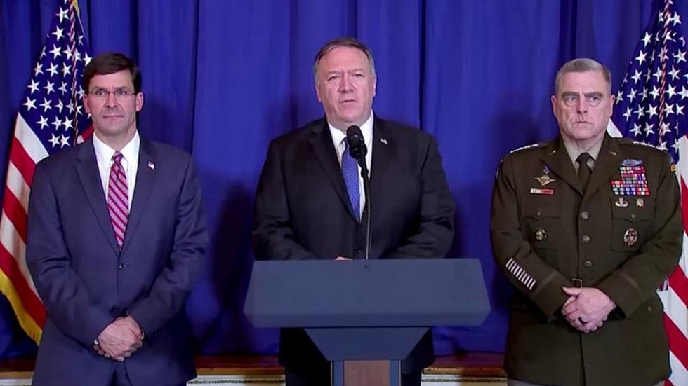 U.S. announces new sanctions on Iran