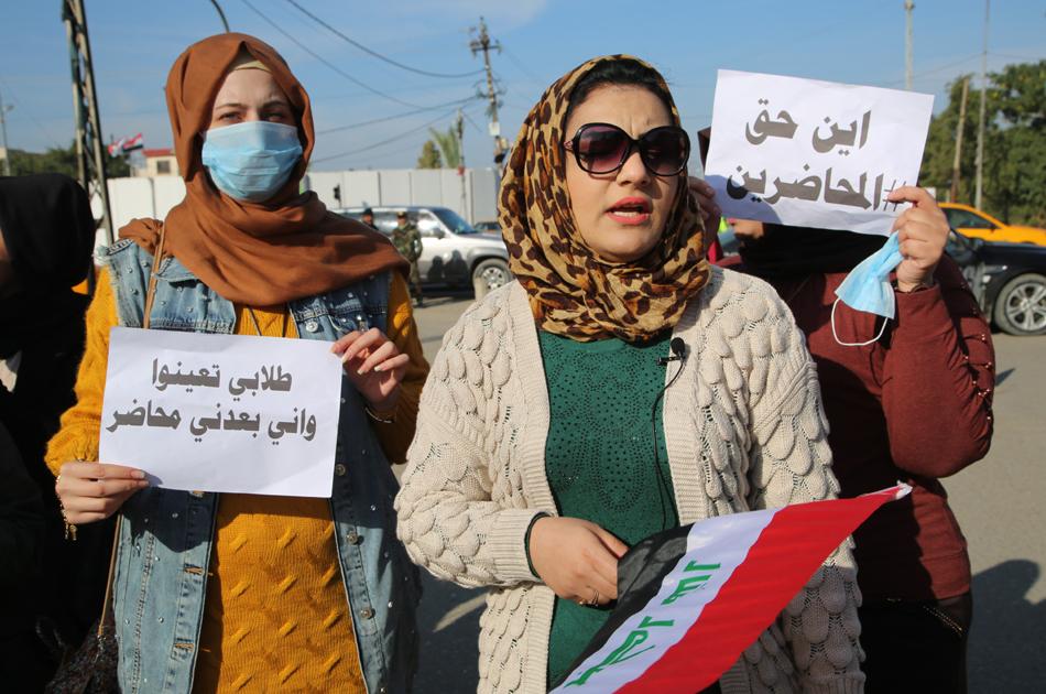 """نبأ غير سار من البرلمان لـ""""المحاضرين"""" وتحذير من دخول العراق بأزمة"""