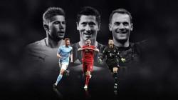 """""""يويفا"""" يعلن المرشحين الثلاثة لأفضل لاعب في اوروبا"""