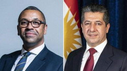 Masrour Barzani discusses the relations between London and Erbil with a British Minister