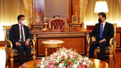 Barzani meets Germany's Consul General in Erbil
