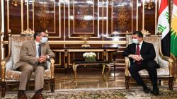 Barzani receives the European Union Ambassador to Iraq in Erbil