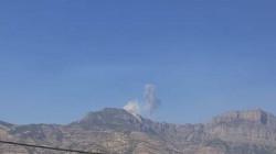 Turkish aircraft bombed Kurdish mountains