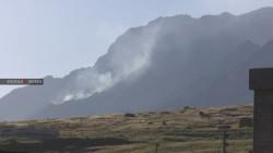Turkish shelling ignites fires in large agricultural lands in Duhok