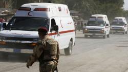 جريحان بإنفجار واعتقال قيادي بداعش في محافظتين