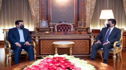 Attacks on diplomatic missions tops the meeting of Nechirvan Barzani and Al-Araji