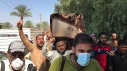 صور.. تشييع جثامين ضحايا قصف الرضوانية ببغداد