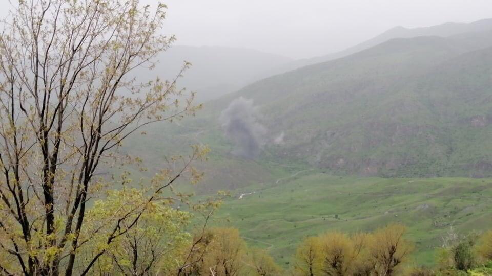 تركيا تقصف معاقل العماليين في جبال قنديل بإقليم كوردستان