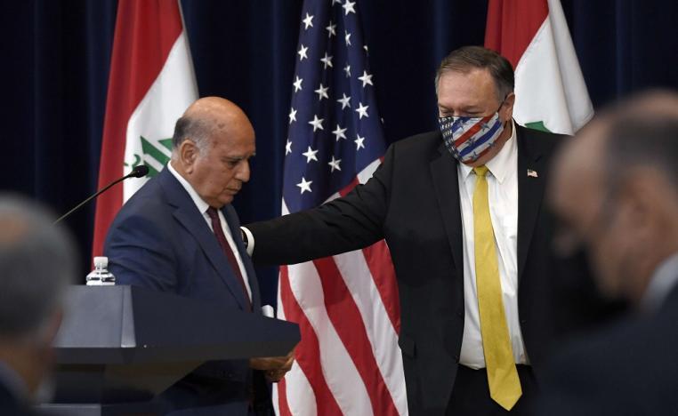 العراق يدعو الحكومة الامريكية الى اعادة النظر بقرار اغلاق السفارة في بغداد
