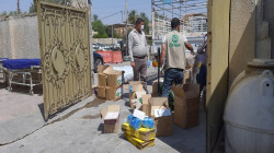 لمواجهة كورونا.. منظمة دولية توزع 938 سلة صحية في ديالى