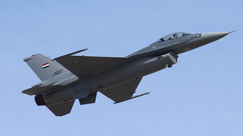 Iraqi air forces launch heavy airstrikes on border areas in Diyala and Saladin
