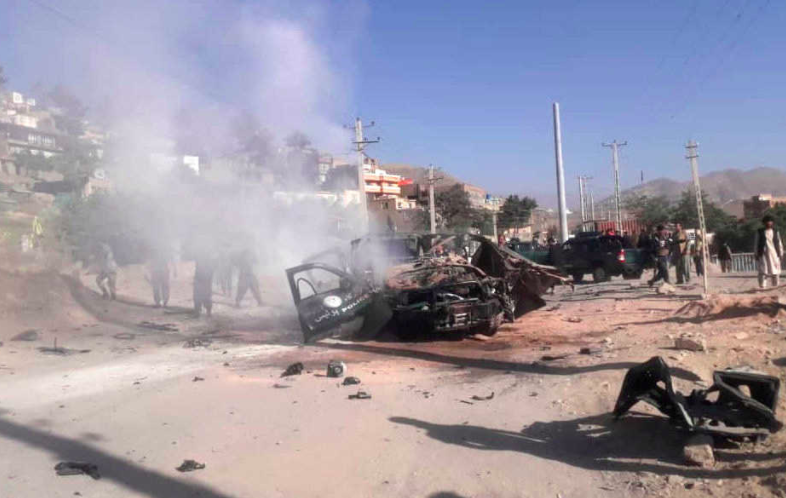 45 قتيلاً وجريحاً في هجوم بسيارة مفخخة شرقي أفغانستان