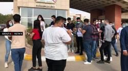 تظاهرة للطلبة في السليمانية احتجاجا على اغلاق جامعتهم
