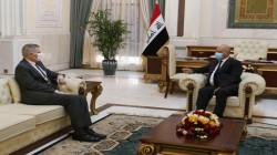 الرئيس العراقي يتمنى الشفاء العاجل لترامب وزوجته ويؤكد على حماية البعثات