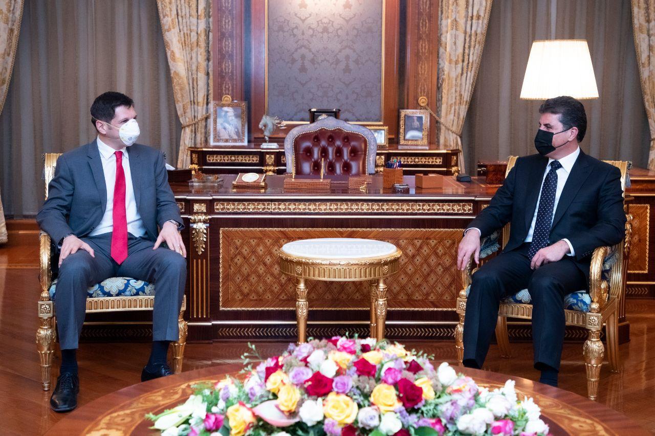 Kurdistan discusses economy, security cooperation with USA
