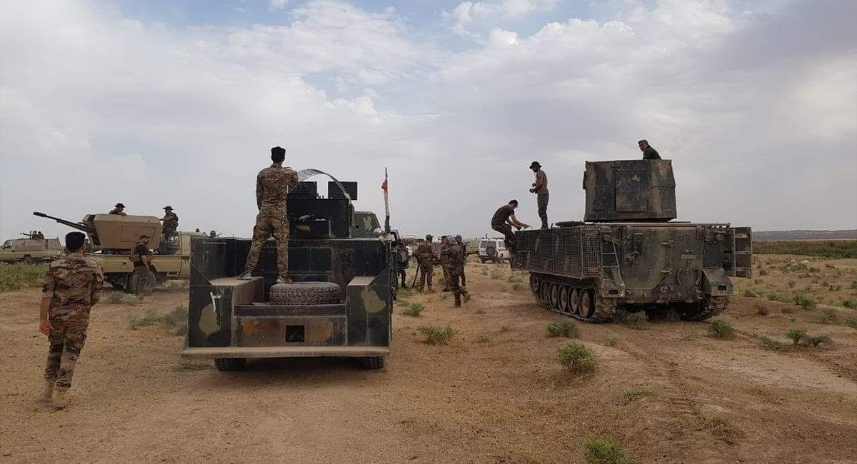 A new fortification plan between Diyala and Saladin to prevent ISIS attacks