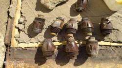 """العثور على مواد """"خطرة جداً"""" قرب قبر أبو مهدي المهندس"""