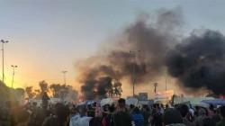 صدامات النجف توقع 20 جريحاً في صفوف المتظاهرين (تحديث)