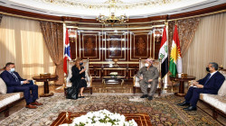 Barzani to Norway's Ambassador: The relations with Baghdad is on the right track