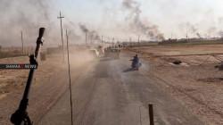 """داعش يشن هجوما على """"المخيسة"""" ووصول تعزيزات لمساندة القوة العراقية"""