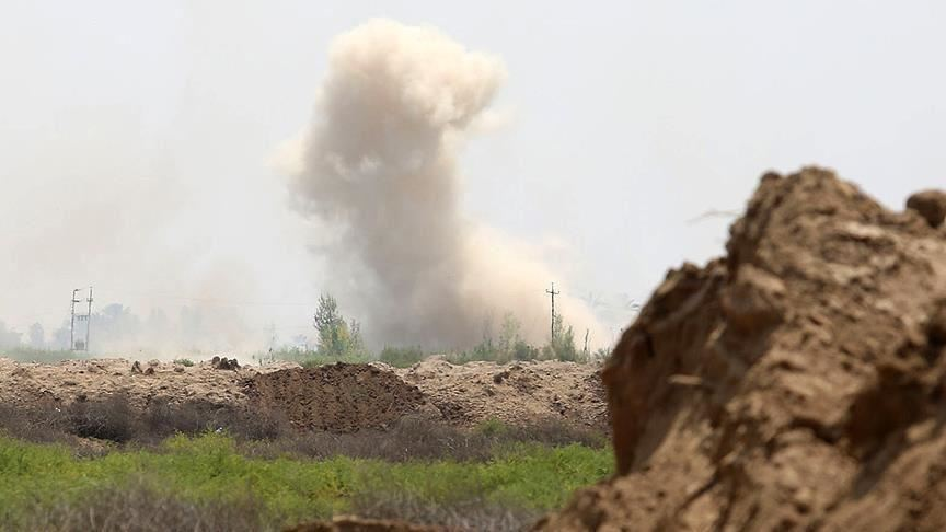 Four ISIS members killed in an explosion in Saladin
