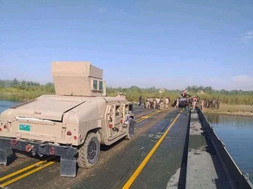 Iraqi security forces establish full control on Kanous Island 1603450290335