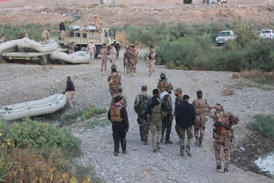 Security forces clear Kanous island after a six-days operation